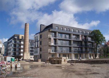 UAB Baltijos Pašvaistė Objektas Gyvenamųjų namų kompleksas Ryga