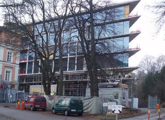 UAB Baltijos Pašvaistė Objektas Psihiatrinio gydymo pastatas, Upsala, Švedija