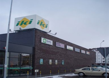 UAB Baltijos Pašvaistė Objektas Prekybos centras IKI, Šiltnamių g. 27, Vilnius