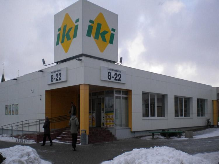 UAB Baltijos Pašvaistė Objektas Prekybos centras IKI, Taikos g., Palanga