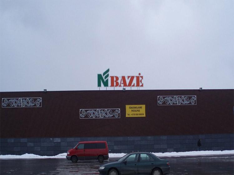 UAB Baltijos Pašvaistė Objektas Prekybos centras NORFA BAZĖ Vilnius