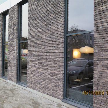 UAB Baltijos Pašvaistė mūrinių fasadų projektai