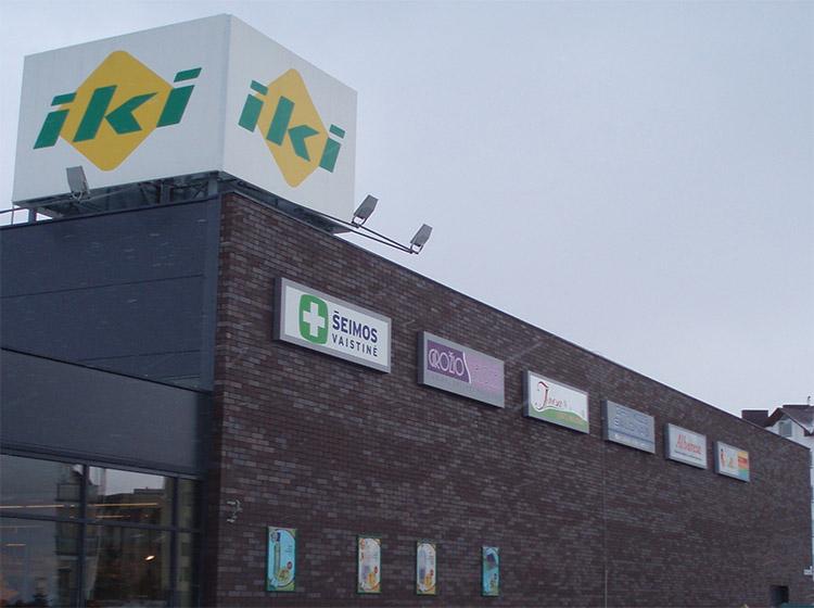 UAB Baltijos Pašvaistė mūrinių fasadų projektas, IKI